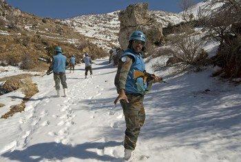 Миротворцам ООН приходится работать в различных климатических условиях.