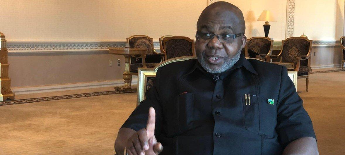 Profesa Musa Juma Assad ambaye ni mdhibiti na mkaguzi mkuu wa hesabu za serikali nchini Tanzania, wakati wa mahojiano na Idhaa ya Kiswahili