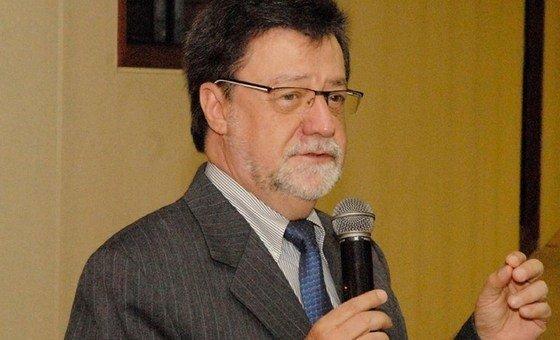 Divino Moura, ganhador do maior prêmio cientifico da OMM.