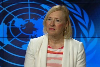 Special Representative of the UN Secretary-General (SRSG) and Head of the United Nations Peacekeeping Force in Cyprus (UNFICYP), Elizabeth Spehar.