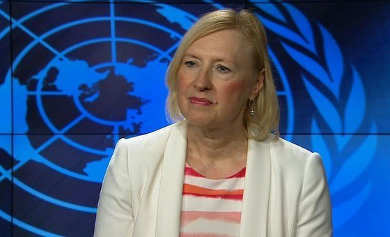 Глава Миссии ООН на Кипре Элизабет Спехар