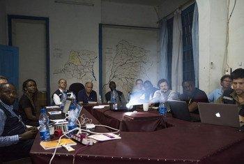 Hii ni 06 June 2018 WHO na CDC walipokutana kujadili mlipuko wa Ebola DRC.