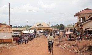 Shughuli za kila siku kwenye soko la Yambio nchini Sudan Kusini