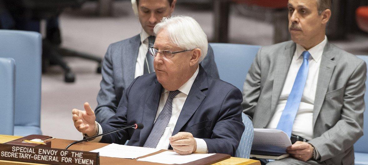 Специальный посланник ООН по Йемену Мартин Гриффитс призвал членов Совета Безопасности поддержать мирный процесс в Йемене.