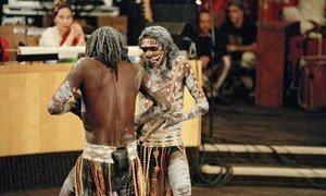 Watu wa kabila la Aborijini kutoka Australia