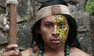 Kijana kutoka jamii ya watu wa asili nchini Honduras