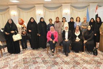 Lors d'une réunion organisée par les Nations Unies, des femmes iraquiennes s'apprêtant à siéger au prochain Conseil des Représentants ont discuté du travail bipartisan. (archives 2018)
