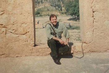 Дарко Мосибоб в иракской провинции Карбала, 1997 г.