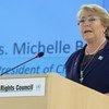 Michelle Bachelet , Kamisha Mkuu  wa Haki za binadamu wa Umoja wa Mataifa