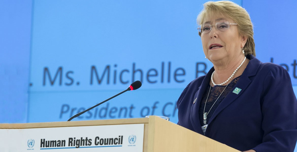 'Pioneering' former Chilean President Michelle Bachelet officially…