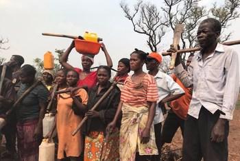 Refugiados da RD Congo em Lunda Norte, em Angola.