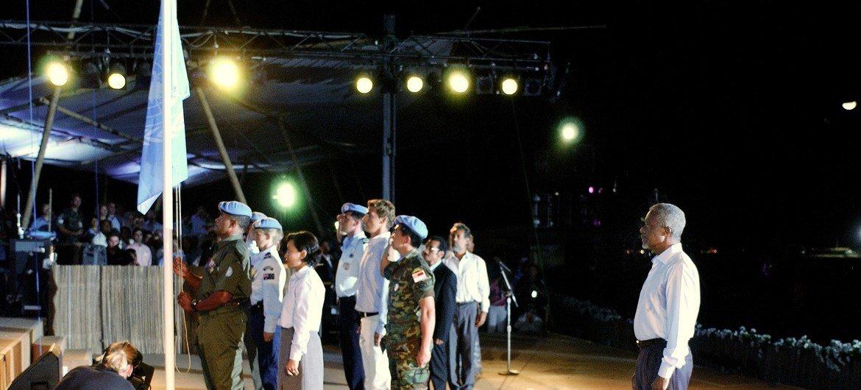 Бывший Генсек ООН Кофи Аннан в Дили (Тимор-Лешти). Архивное фото
