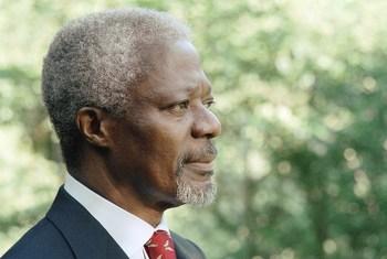 Ex-secretário-geral da ONU, Kofi Annan.