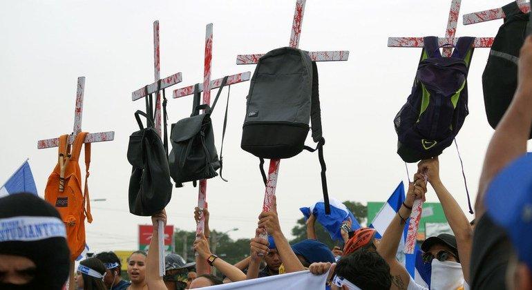 Au Nicaragua, les violations des droits de l'homme persistent (ONU)