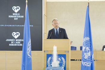 Le Directeur général de l'Office des Nations Unies et  Secrétaire général de la Conférence du désarmement (CD), Michael Møller, à Genève.