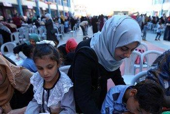 Estados/membros anunciam mais US$ 118 milhões para a agência da ONU que apoia refugiados palestinos.