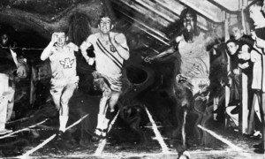 Annan foi atleta durante a universidade, tendo batido recordes de velocidades.