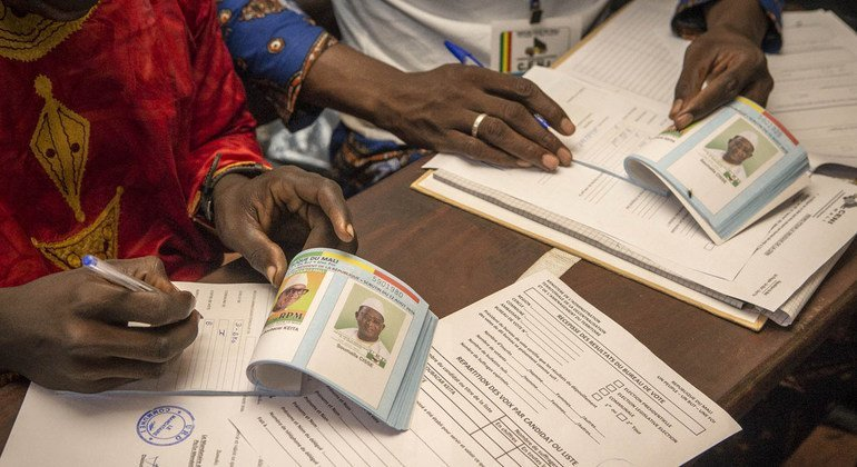 UN Security Council welcomes results of Mali's presidential elections