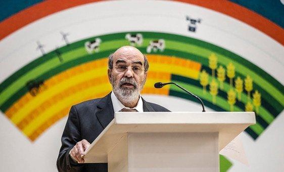 Diretor-geral da FAO, Graziano da Silva.