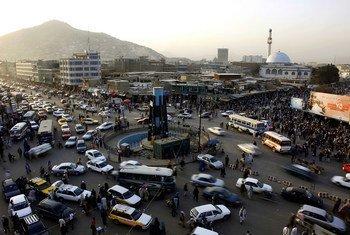 Taswira ya mji mkuu wa Afghanistan, Kabul