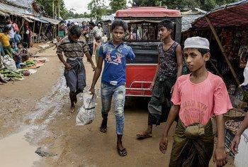 缅甸政府遣散了75名被政府军招募和使用的儿童和青年。(资料)