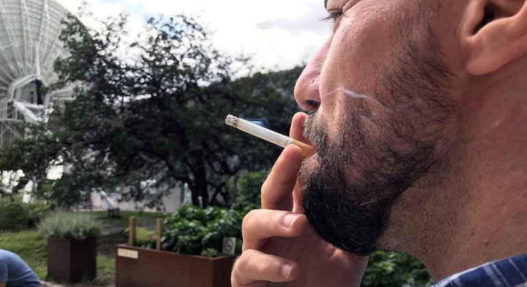 combat against devastating effects of tobacco can only be