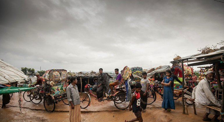 Los refugiados rohinyás todavía viven en Cox´s Bazar, en Bangladesh, un año después de haber huido de Myanmar.