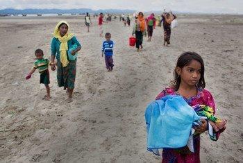 Zaidi ya nusu ya wakimbizi wa kabila la rohingya huko Cox's Bazar nchini Bangldesh ni wanawake na wasichana.