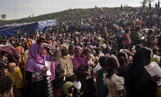 Segundo a OIM, perto de um milhão de rohingyas vivem em Cox´s Bazar.