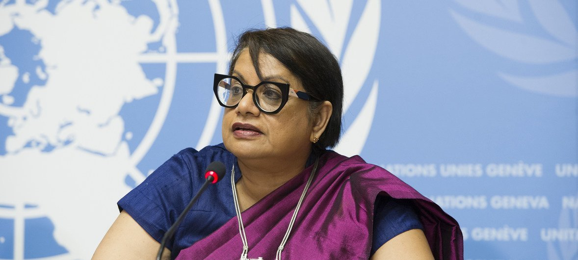 Радхика Кумарасвами ранее занимала пост Спецдокладчика ООН по сексуальному насилию и наслушалась историй о зверствах в отношении женщин, но даже ее потрясли рассказы бежавших из Мьянмы.