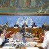 Председатель Независимой международной мисии по установлению фактов в Мьянме Марзуки Дарусман и его коллеги представили журналистам в Женеве свой доклад.