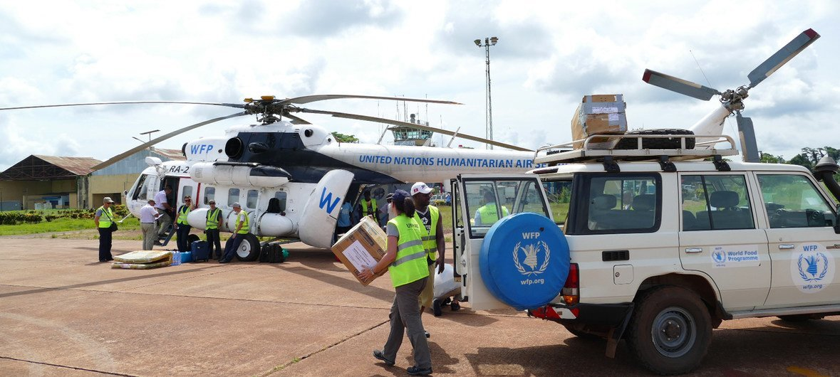 UN food relief agency airlifts aid to DR Congo province hit by Ebola outbreak | | UN News
