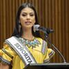 巴拿马小姐、土著女孩罗莎·蒙特罗。
