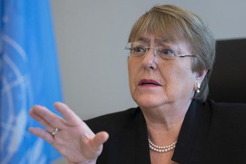 UN High Commissioner for Human Rights Michelle Bachelet.