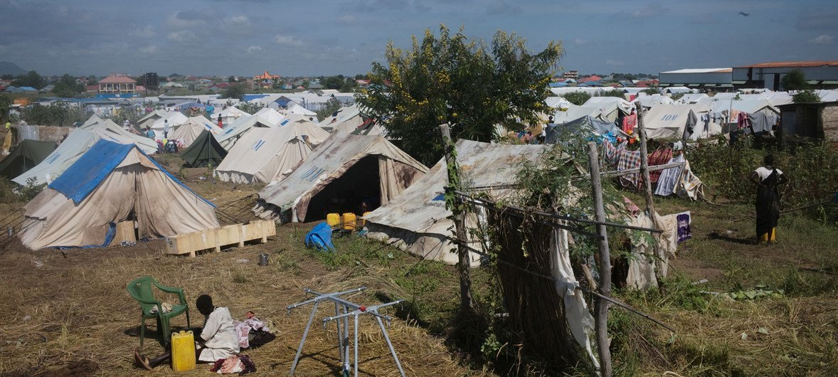 New home for scores of South Sudan's displaced | UN News
