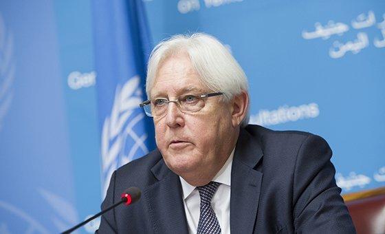यमन के लिए संयुक्त राष्ट्र के विशेष दूत मार्टिन ग्रिफ़िथ्स जो यमन में शांति स्थापना के लिए अथक कोशिशें कर रहे हैं. (5 सितंबर 2018)