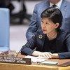 Izumi Nakamitsu, Haute-Représentante des Nations Unies pour les affaires de désarmement au Conseil de sécurité (archive)