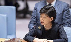 Izumi Nakamitsu, Under-Secretary-General and High Representative for Disarmament Affairs (file).