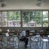 Em Villanueva, nas Honduras, Darwin na sala de aula que partilhava com o amigo Henry, que cometeu suícidio depois de ser vítima de bullying.