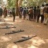 2018年二月,南苏丹延比奥的儿童兵获得释放。