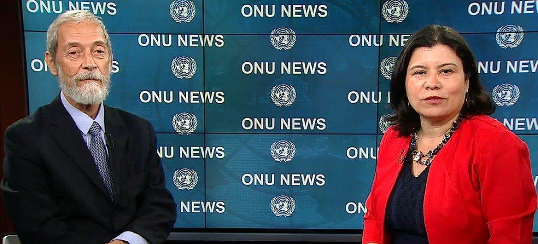 Monica Grayley, da ONU News, entrevista representante especial do secretário-geral para a Guiné-Bissau, José Viegas Filho.