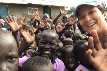 Fernanda Santos, officier de police au sein de Mission des Nations Unies au Soudan du Sud (MINUSS)
