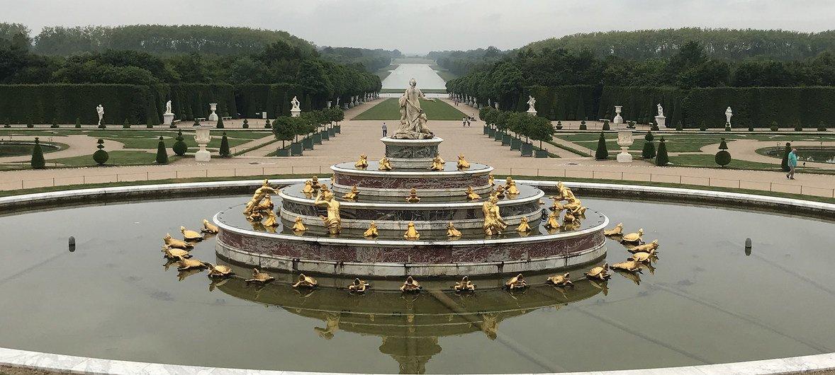 Сады в Версале.