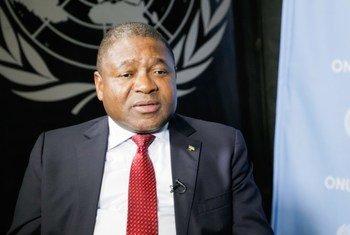 Rais wa Msumbiji, Filipe Jacinto Nyusi