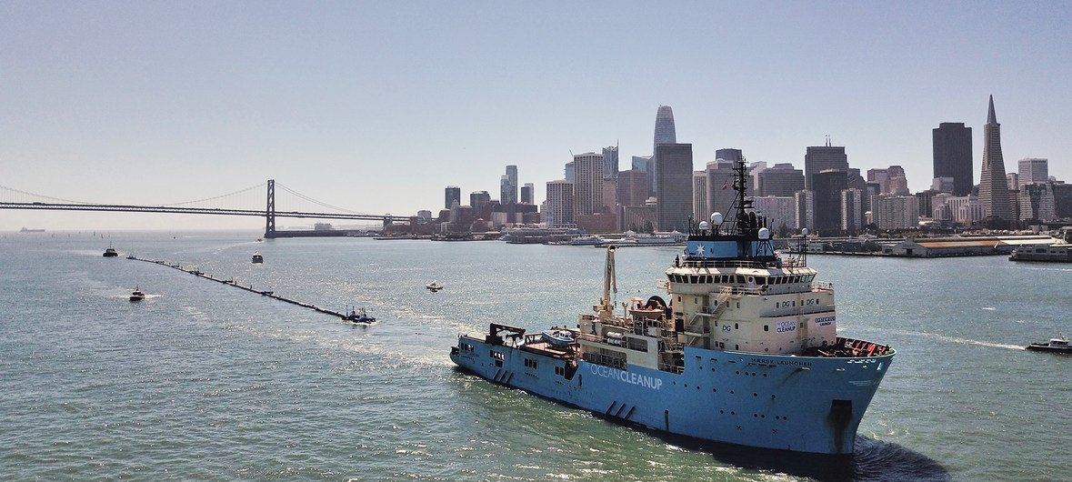 Great Pacific Garbage Patch Clean Up Project Launches Trial Run Un