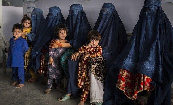 Беженцы из Афганистана в Пакистане.