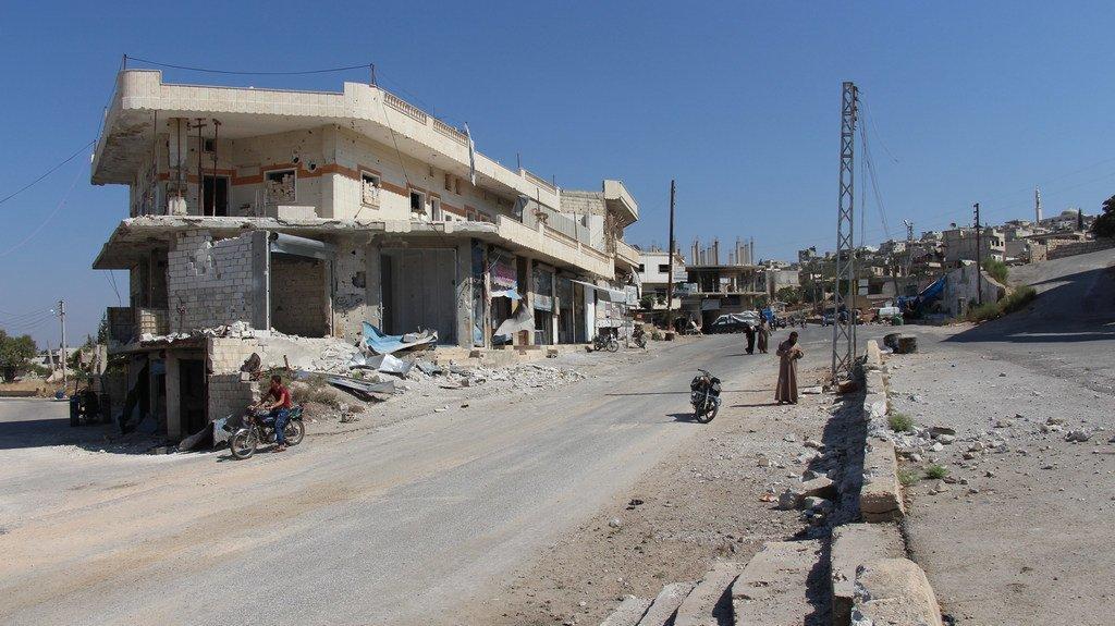 Au moins 59 civils ont été tués lundi dans une série d'attaques dans la région d'Idlib, dans le nord-ouest de la Syrie