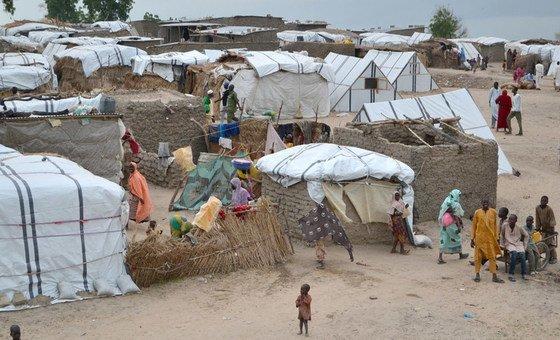 View of Rann, Borno State, Nigeria.