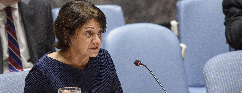 روزماري أ. ديكارلو وكيلة للأمين العام الأمم المتحدة للشؤون السياسية