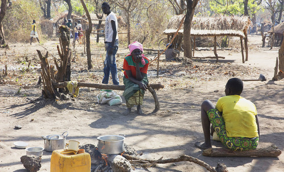 The UN Mission in South Sudan (UNMISS) has investigated human rights abuses in Kajo Keji in the south of the country. (file: January 2017)